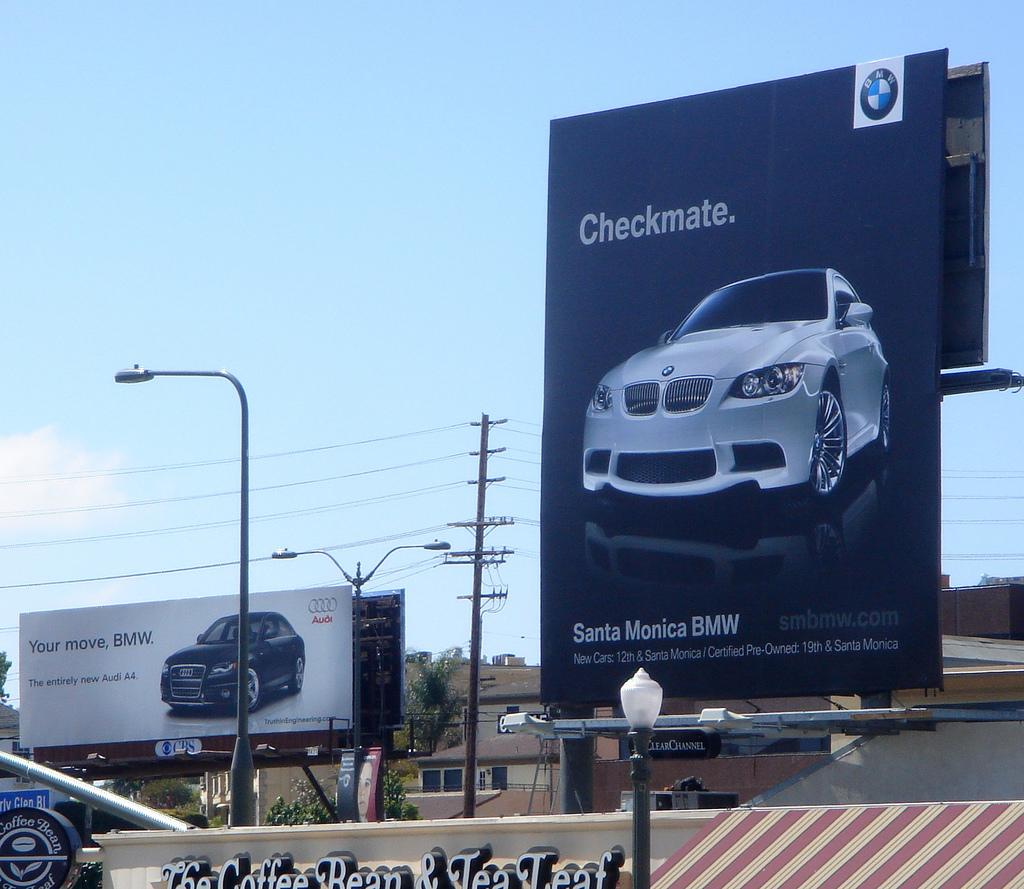BMW vs Audi Ad Campaign