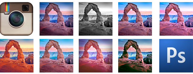 Instagram Style Lightroom & Photoshop Filter Presets via Casey Mac Photos