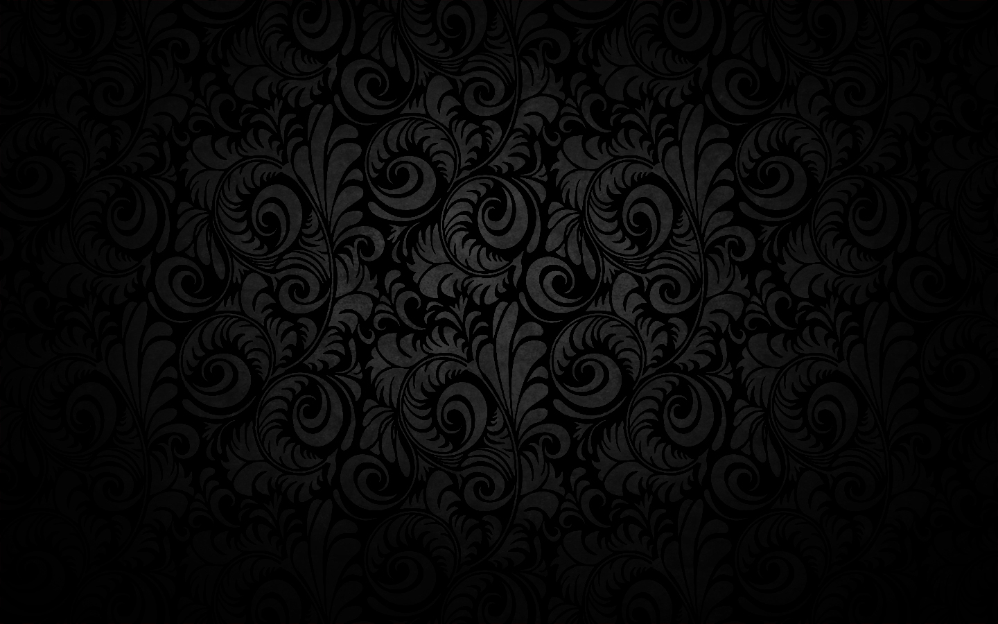 Black Gray Wallpaper in a Dark Style